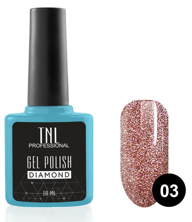 цены TNL PROFESSIONAL 03 гель-лак для ногтей Опал / Diamond 10 мл