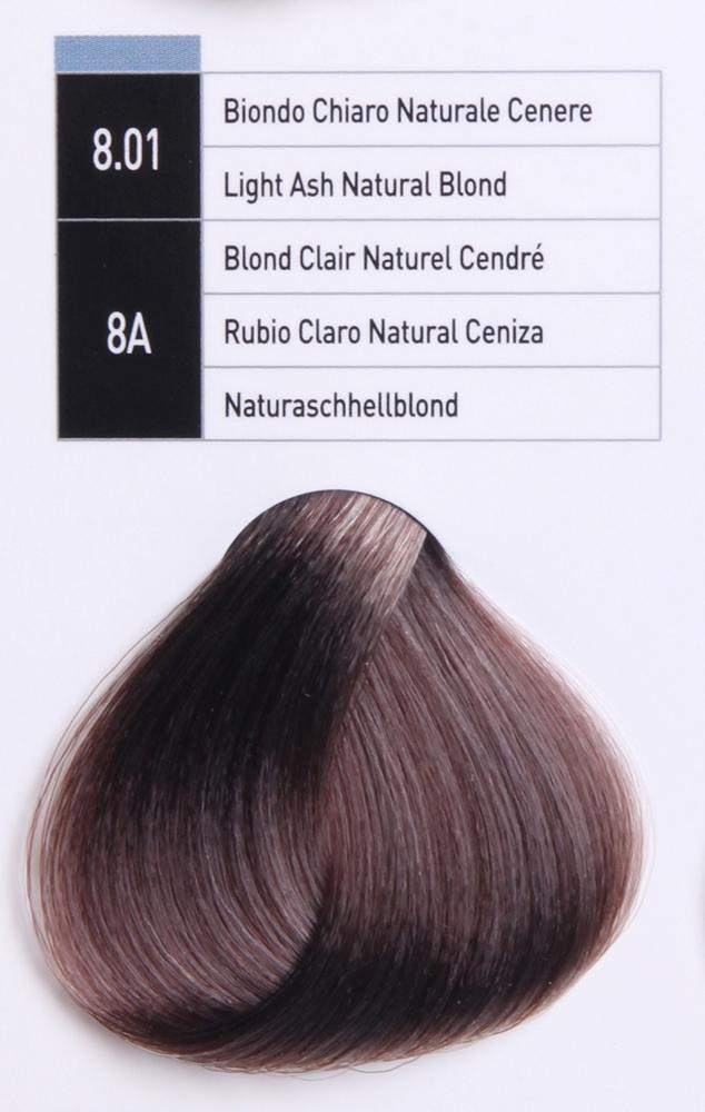 JUNGLE FEVER 8.01 ����-������ ��� ����� / Light Ash Natural Blond COLOR GUIDE 100��