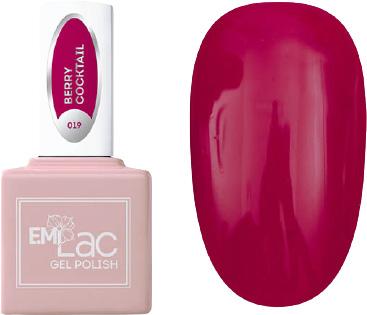 E.MI 019 гель-лак для ногтей, Ягодный коктейль / E.MiLac 6 мл