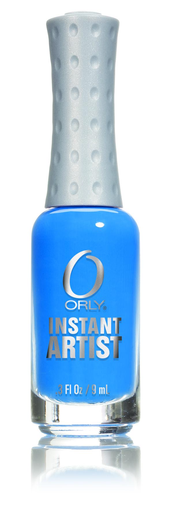 ORLY Краска для дизайна ногтей 16 Hot Blue / Instant Artist 9мл