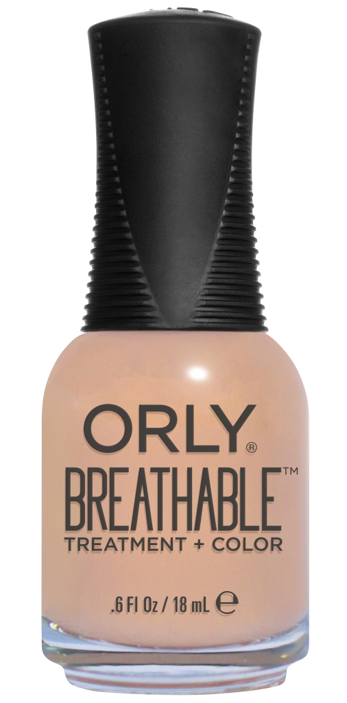 ORLY Уход профессиональный дышащий (цвет) за ногтями 907 NOURISHING NUDE / Breathable 18 мл лаки для ногтей orly мини лак для ногтей 678 sheer nude