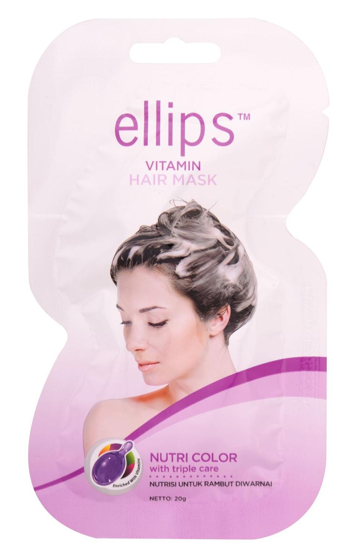 ELLIPS Маска для защиты и восстановления структуры окрашенных волос / Nutri Color 20 г фото