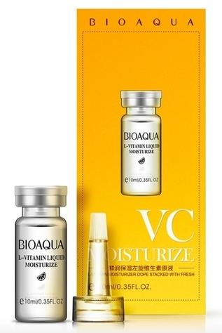 BIOAQUA Сыворотка с гиалуроновой кислотой и витамином С 10 мл