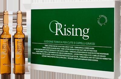 ORISING Лосьон-тоник для жирных волос и кожи головы 12*10 мл