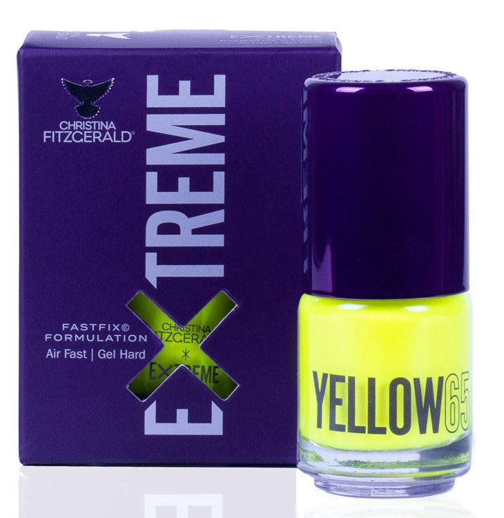 Купить CHRISTINA FITZGERALD Лак для ногтей 65 / YELLOW EXTREME 15 мл, Желтые