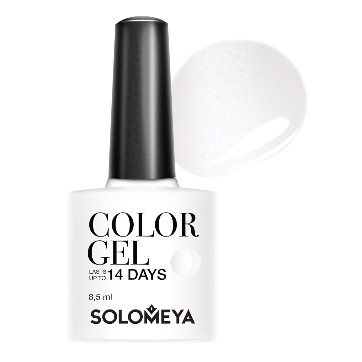SOLOMEYA Гель-лак Solomeya Color Gel Marie SCGW001/Мэри 8,5 мл