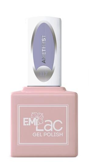 Купить E.MI 117 SD гель-лак для ногтей, Аметист / E.MiLac 6 мл, Фиолетовые