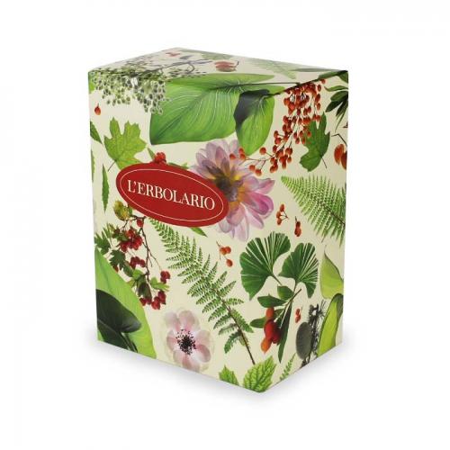 LERBOLARIO Коробка Листья и цветы специальная (22*11,5*16,5)