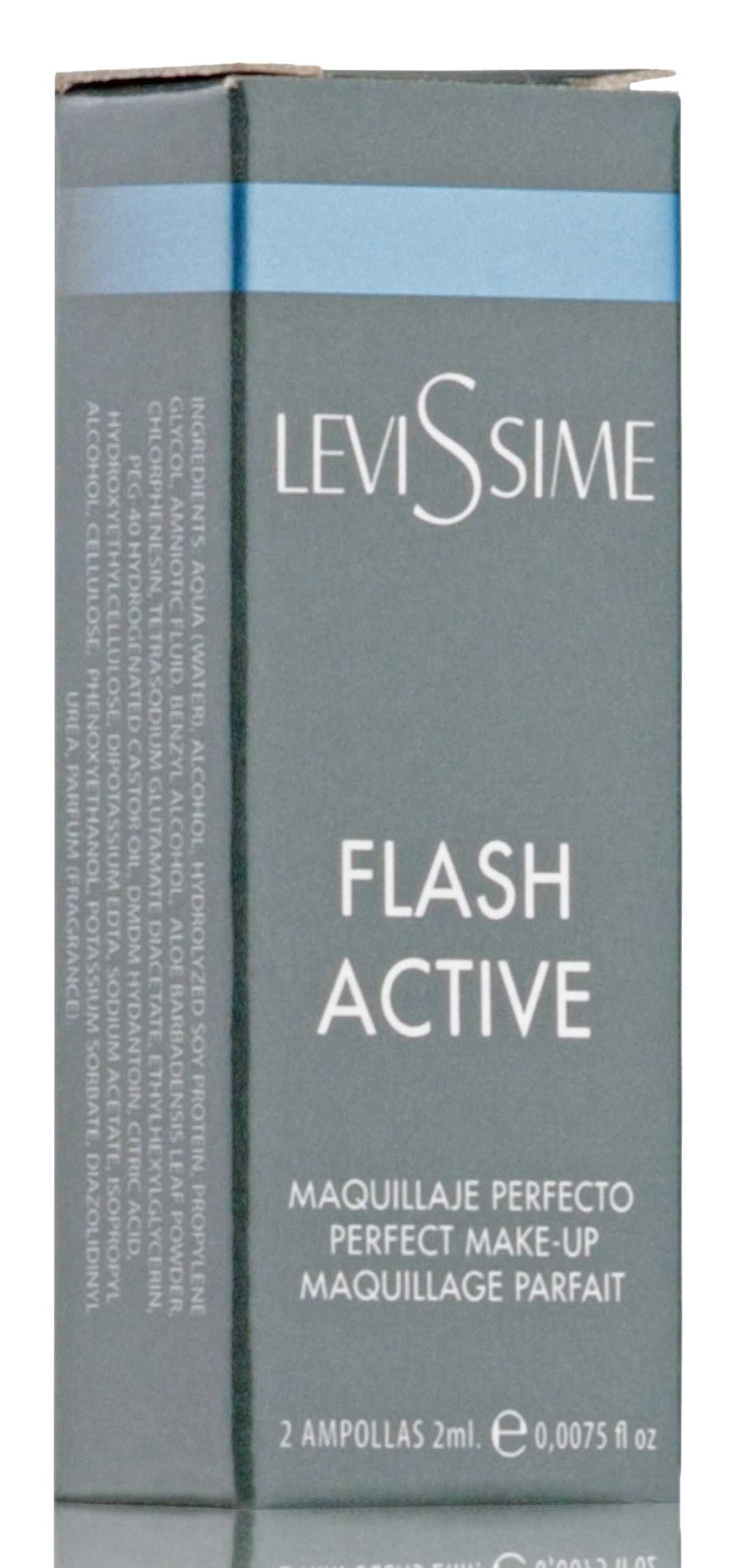 LEVISSIME Комплекс Мгновенное преображение / Flash Active 2*2 мл - Ампулы