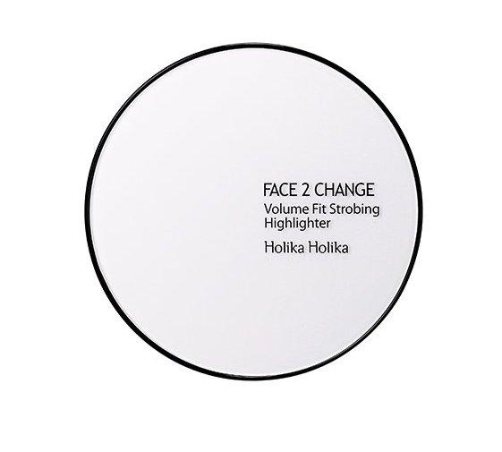 HOLIKA HOLIKA Хайлайтер компактный Фейс ту чейндж / Face 2 Change Volume Fit Strobing Highlighter 9гр
