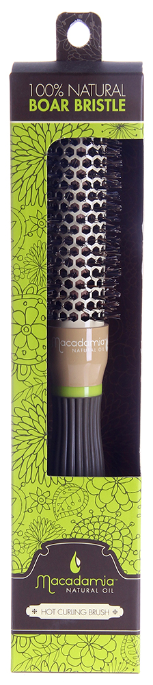 MACADAMIA Natural Oil Брашинг 25мм / Hot Curling Brush