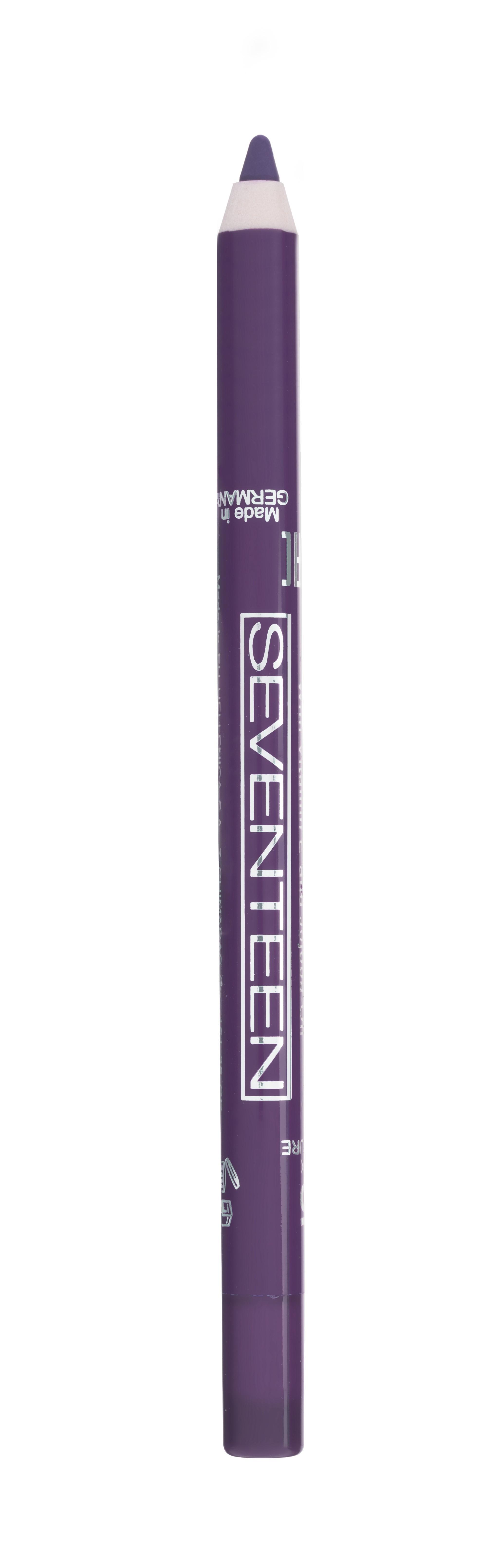 SEVENTEEN Карандаш водостойкий с витамином Е для губ, 34 красно-пурпурный / Super Smooth W/P Lip Liner 1,2 г