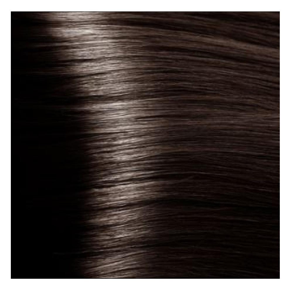 Купить KAPOUS HY 5.757 краска для волос, светлый коричневый пралине / Hyaluronic Acid 100 мл