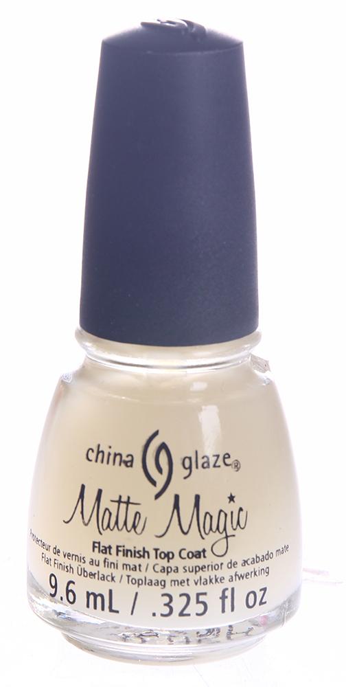 CHINA GLAZE �������� ������� ������� ��� ���� / Matte Magic Flat Finish Top Coat 9,6��