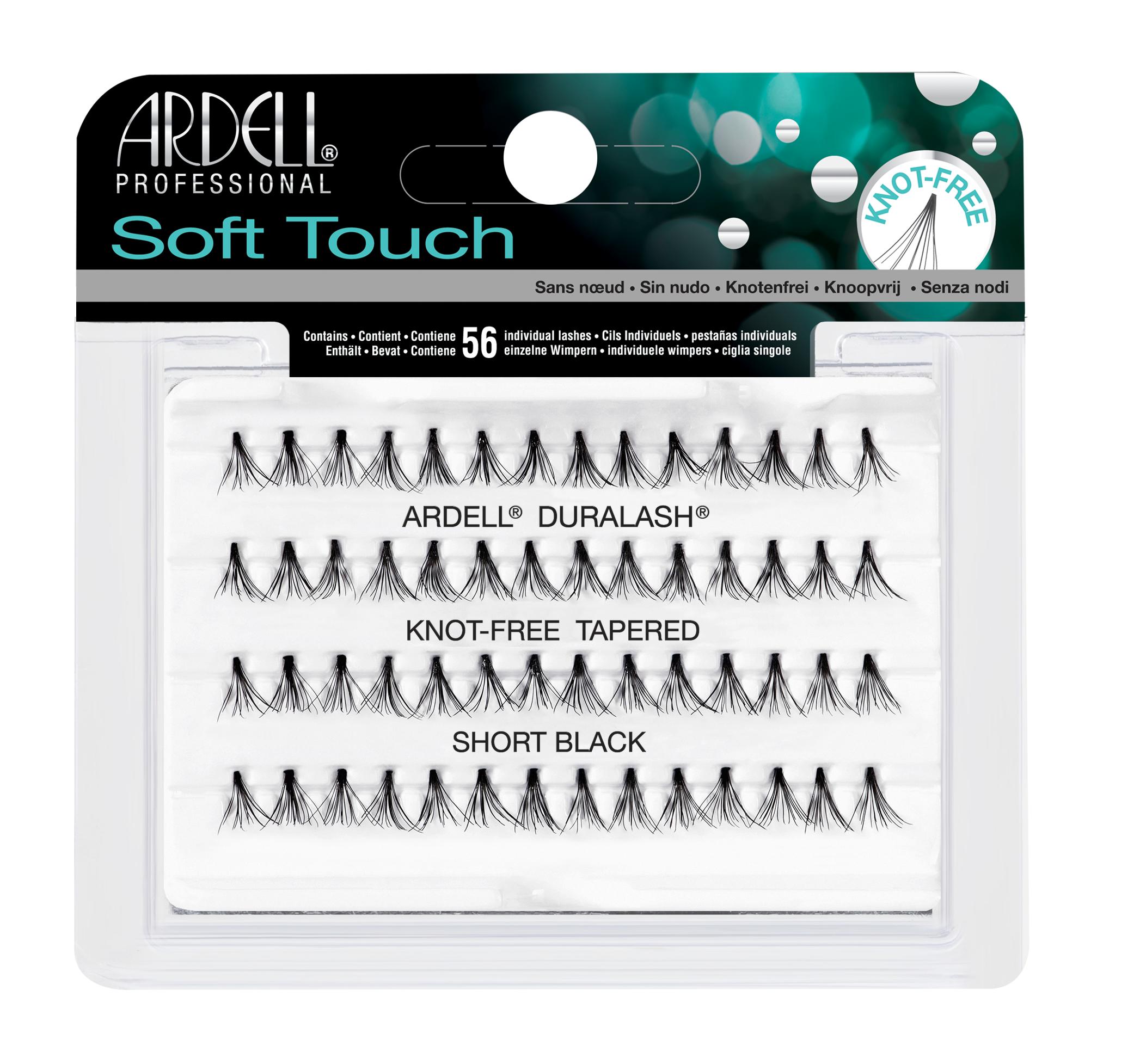 ARDELL Пучки ресниц безузелковые короткие ультра-легкие / Soft Touch  - Купить