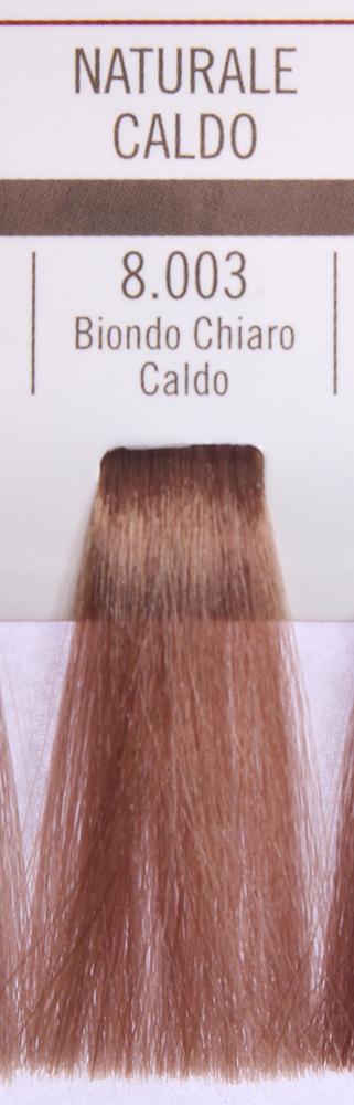 BAREX 8.003 краска для волос / PERMESSE 100млКраски<br>Оттенок: Светлый блондин теплый. Профессиональная крем-краска Permesse отличается низким содержанием аммиака - от 1 до 1,5%. Обеспечивает блестящий и натуральный косметический цвет, 100% покрытие седых волос, идеальное осветление, стойкость и насыщенность цвета до следующего окрашивания. Комплекс сертифицированных органических пептидов M4, входящих в состав, действует с момента нанесения, увлажняя волосы, придавая им прочность и защиту. Пептиды избирательно оседают в самых поврежденных участках волоса, восстанавливая и защищая их. Масло карите оказывает смягчающее и успокаивающее действие. Комплекс пептидов и масло карите стимулируют проникновение пигментов вглубь структуры волоса, придавая им здоровый вид, блеск и долговечность косметическому цвету. Активные ингредиенты:&amp;nbsp;Сертифицированные органические пептиды М4 - пептиды овса, бразильского ореха, сои и пшеницы, объединенные в полифункциональный комплекс, придающий прочность окрашенным волосам, увлажняющий и защищающий их. Сертифицированное органическое масло карите (масло ши) - богато жирными кислотами, экстрагируется из ореха африканского дерева карите. Оказывает смягчающий и целебный эффект на кожу и волосы, широко применяется в косметической индустрии. Масло карите защищает волосы от неблагоприятного воздействия внешней среды, интенсивно увлажняет кожу и волосы, т.к. обладает высокой степенью абсорбции, не забивает поры. Способ применения:&amp;nbsp;Крем-краска готовится в смеси с Молочком-оксигентом Permesse 10/20/30/40 объемов в соотношении 1:1 (например, 50 мл крем-краски + 50 мл молочка-оксигента). Молочко-оксигент работает в сочетании с крем-краской и гарантирует идеальное проявление краски. Тюбик крем-краски Permesse содержит 100 мл продукта, количество, достаточное для 2 полных нанесений. Всегда надевайте подходящие специальные перчатки перед подготовкой и нанесением краски. Подготавливайте смесь крем-краски и молочка-оксигента Permesse в нем