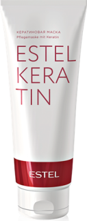 ESTEL PROFESSIONAL Кератиновая маска для волос / ESTEL KERATIN 250млМаски<br>Кератиновая маска для волос ESTEL KERATIN - домашний уход продлевает эффект кератинизации волос, достигнутый во время процедуры ESTEL THERMOKERATIN. Способ применения: роскошные волосы за 5 минут.<br><br>Объем: 250 мл