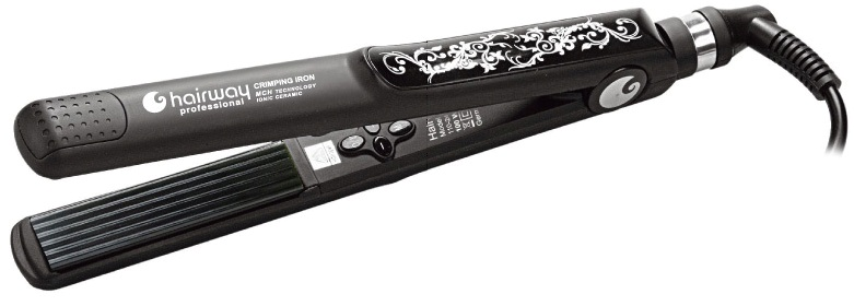 HAIRWAY Щипцы-гофре Crimping Iron MCH Techn.ion.ceram.