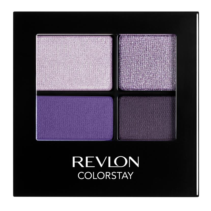 Revlon тени четырехцветные для