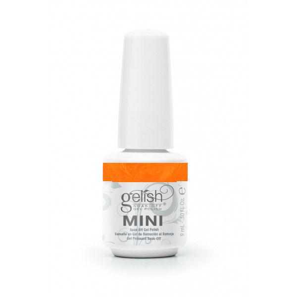 GELISH Гель-лак Orange Cream Dream / GELISH MINI 9млГель-лаки<br>Гель-лак Gelish Mini наносится на ноготь как лак, с помощью кисточки под колпачком. Процедура нанесения схожа с нанесением обычного цветного покрытия. Все гель-лаки Harmony Gelish Mini выполняют функцию еще и укрепляющего геля, делая ногти более прочными и длинными. Ногти клиента находятся под защитой гель-лака, они не ломаются и не расслаиваются. Гель-лаки Gelish Mini после сушки в LED или УФ лампах держатся на натуральных ногтях рук до 3 недель, а на ногтях ног до 5 недель. Способ применения: Подготовительный этап. Для начала нужно сделать маникюр. В зависимости от ваших предпочтений это может быть европейский, классический обрезной, СПА или аппаратный маникюр. Главное, сдвинуть кутикулу с ногтевого ложа и удалить ороговевшие участки кожи вокруг ногтей. Особенностью этой системы является то, что перед нанесением базового слоя необходимо обработать ноготь шлифовочным бафом Harmony Buffer 100/180 грит, для того, чтобы снять глянец. Это поможет улучшить сцепку покрытия с ногтем. Пыль, которая осталась после опила, излишки жира и влаги удаляются с помощью обезжиривателя Gelish MINI Ph Bond или любого другого дегитратора. Нанесение искусственного покрытия Harmony.&amp;nbsp; После того, как подготовительные процедуры завершены, можно приступать непосредственно к нанесению искусственного покрытия Harmony Gelish. Как и все гелевые лаки, продукцию этого бренда необходимо полимеризовать в лампе. Гель-лаки Gelish Mini сохнут (полимеризуются) под LED или УФ лампой. Время полимеризации: В LED лампе 18G/6G = 30 секунд В LED лампе Gelish Mini Pro = 45 секунд В УФ лампах 36 Вт = 120 секунд В УФ лампе Harmony Mini Portable UV Light = 180 секунд ПРИМЕЧАНИЕ: подвергать полимеризации необходимо каждый слой гель-лакового покрытия! 1)Первым наносится тонкий слой базового покрытия Gelish MINI Foundation Soak Off Base Gel 9 мл. 2)Следующий шаг   нанесение цветного гель-лака Harmony Gelish Mini.&amp;nbsp; 3)Заключительный эт