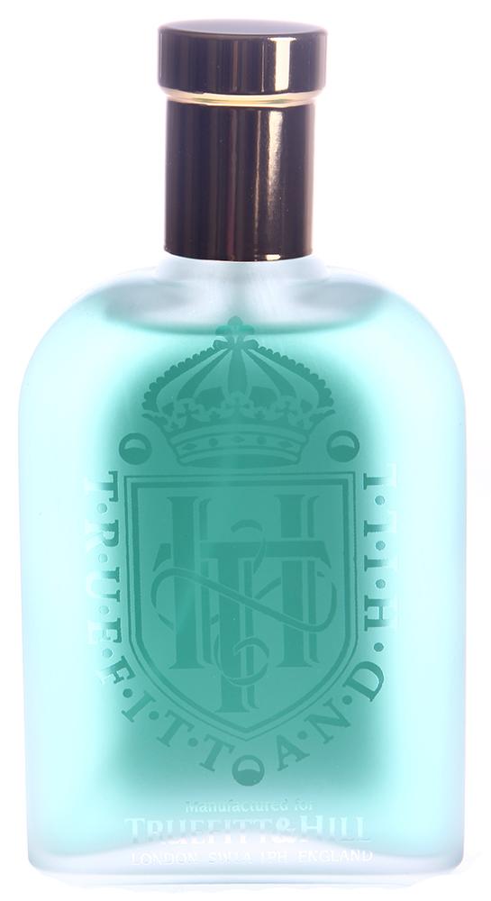 TRUEFITT HILL Одеколон Grafton 100млПосле бритья<br>Классический мужской аромат, чья вершина из свежего, пряного аромата зелени переходит в цветочное сердце и оканчивается богатым основанием из дерева и янтаря с легким оттенком кожи. Активные ингредиенты: Ароматическая композиция, дистилированная вода, этиловый спирт (объемная доля см. на упаковке).   Способ применения: Распылять на кожу с расстояния 15 см. Избегать попадания в глаза.<br><br>Объем: 100