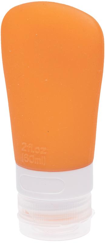 Купить DEWAL BEAUTY Баночка дорожная для путешествий, оранжевая с присоской 60 мл