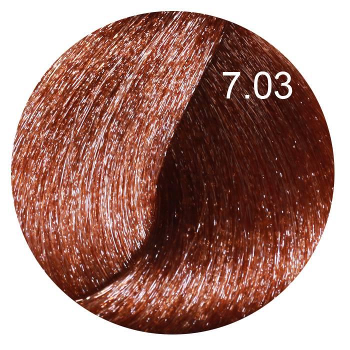 FARMAVITA 7.03 краска для волос, теплый блондин / LIFE COLOR PLUS 100 мл