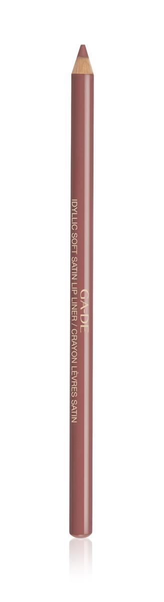 GA-DE Карандаш для губ контурный № 52 / IDYLLIC SOFT SATIN 1,2 г -  Карандаши