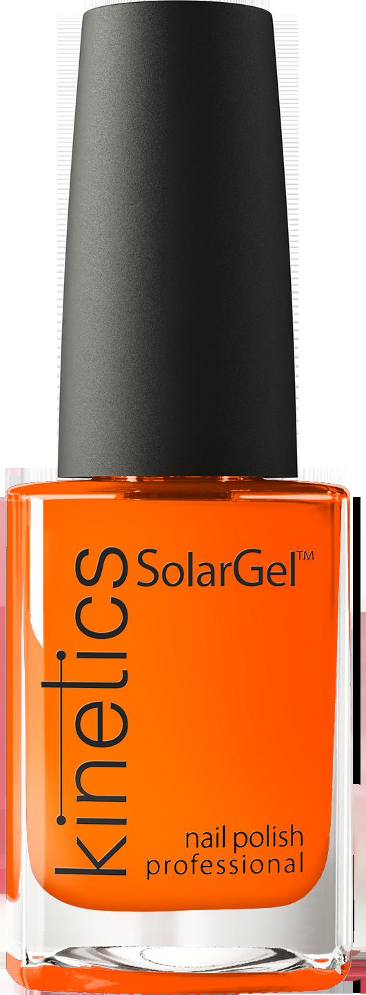 Kinetics 371 лак профессиональный для ногтей / solargel