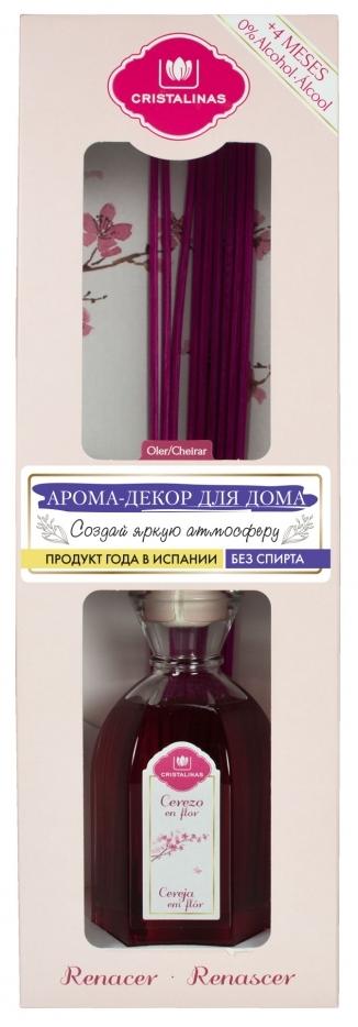 CRISTALINAS Диффузор ароматический Цветущая вишня / Mikado 180 мл