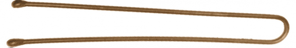 DEWAL PROFESSIONAL Шпильки коричневые, прямые 60мм, 60шт/уп (на блистере) от Галерея Косметики