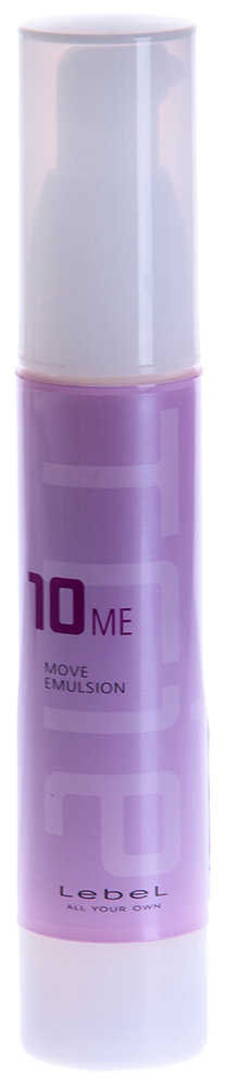 LEBEL Эмульсия для волос / Trie Move Emulsion 10 50грЭмульсии<br>Пластифицирующая матовая паста для укладки волос, имеет суперсильную фиксацию, подходит для создания креативных форм, выделения акцентов, а также создания игольчатого эффекта. Для создания креативных форм. Подчёркивает и выделяет акценты, идеально подходит для создания игольчатого эффекта, SPF 10. Способ применения. Небольшое количество эмульсии (2 нажатия для волос средней длины) распределить на руках, приступить к формированию кончиков и отдельных прядей.<br><br>Объем: 50