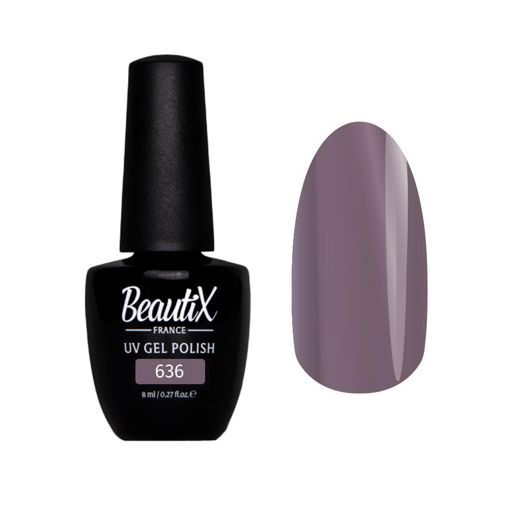 Купить BEAUTIX 636 гель-лак для ногтей 8 мл, Фиолетовые