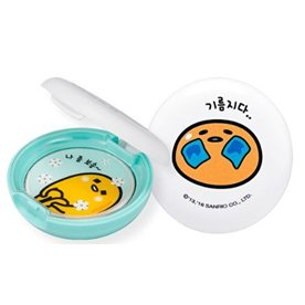 HOLIKA HOLIKA Пудра компактная минеральная Гудетама / Gudetama Sebum Clear Pact 9гр пудра holika holika gudetama sebum clear pact 9 гр