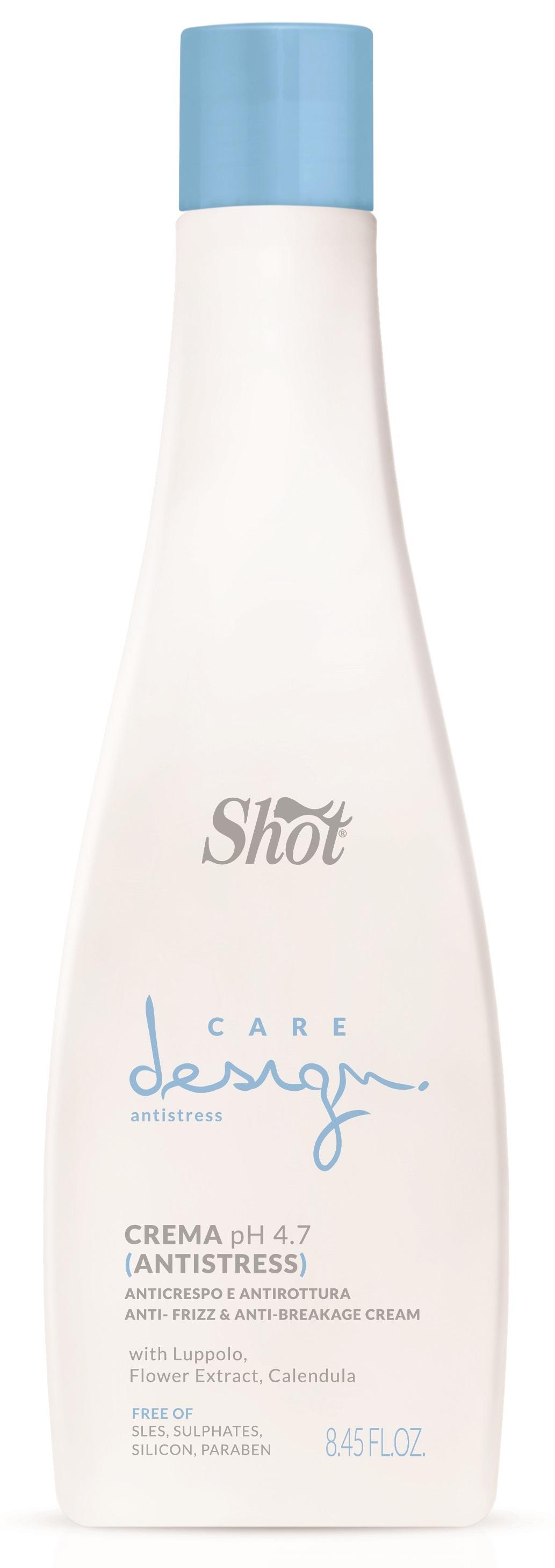 SHOT Крем антистресс против ломкости / Care Design 250 мл - Кремы