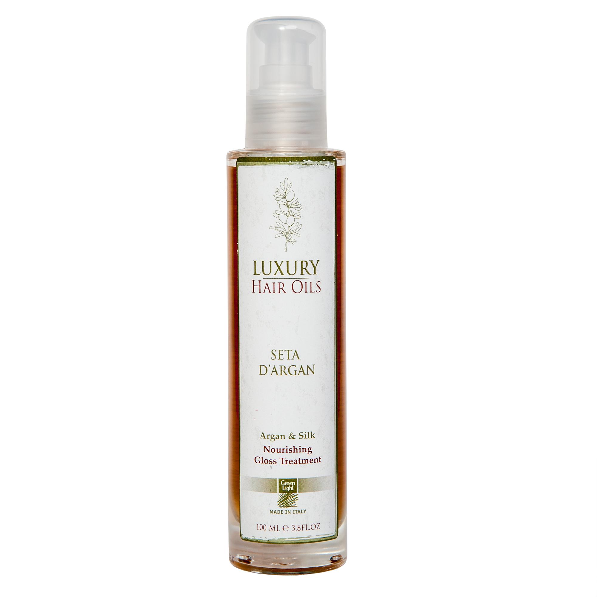 GREEN LIGHT Масло для волос / Luxury Hair Oils-Argan & Silk 100мл