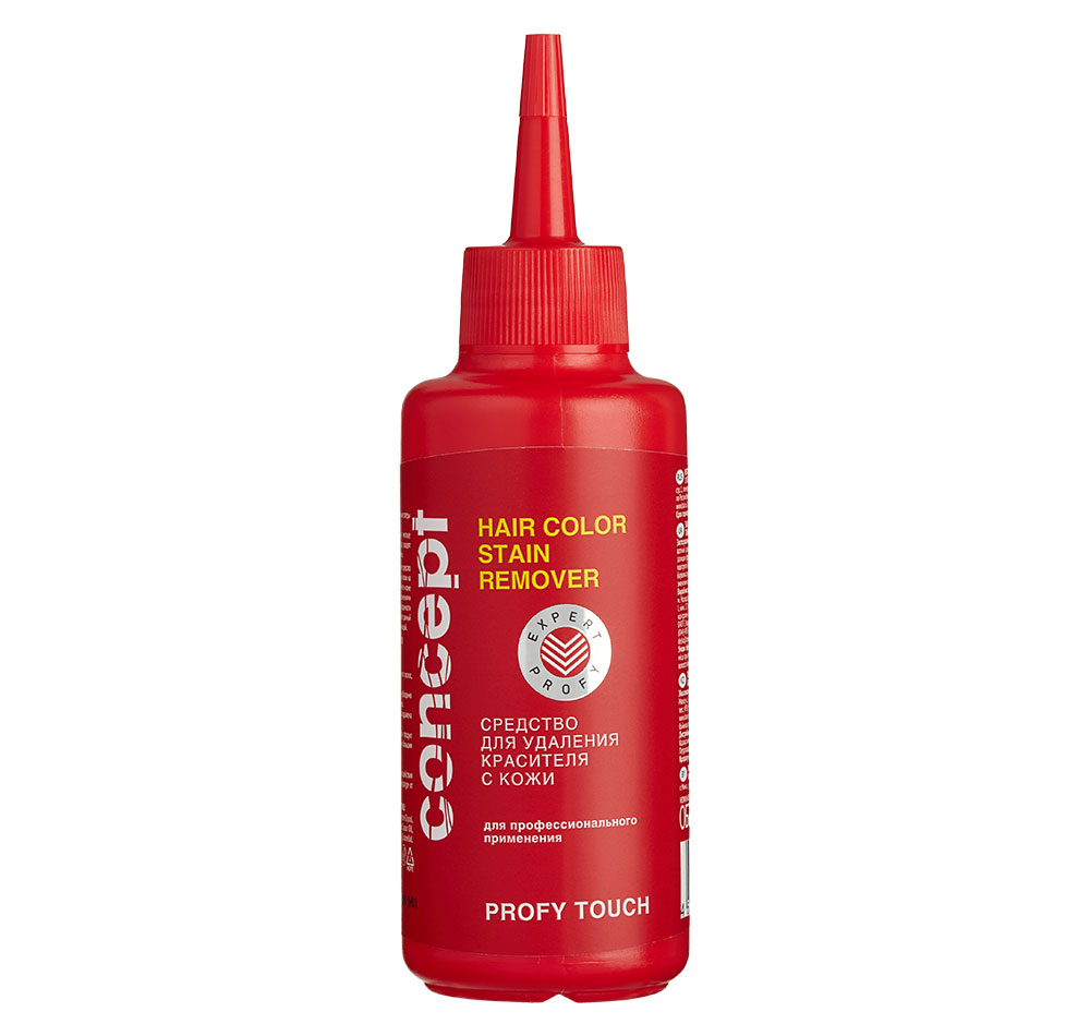 Купить CONCEPT Средство для удаления красителя с кожи / PROFY TOUCH Haircolor stain remover 145 мл