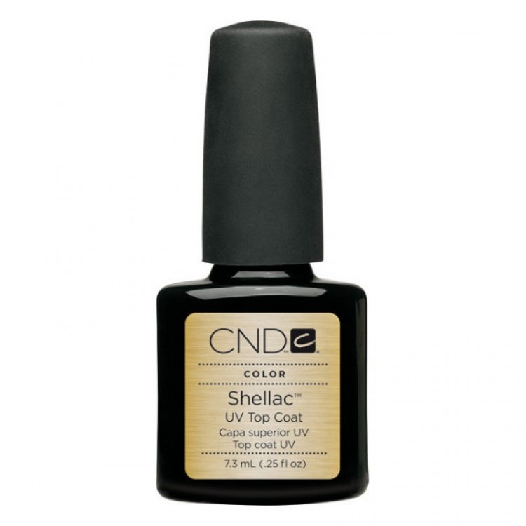 CND Покрытие верхнее / UV Top Coat SHELLAC 7,3мл