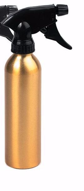 HAIRWAY Распылитель Hairway Tubus д/воды золотой метал.250мл.