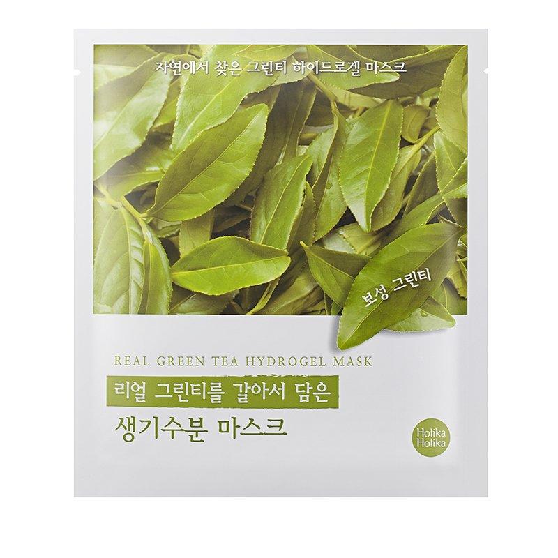 Купить HOLIKA HOLIKA Маска гидрогелевая Силы природы, зеленый чай / Found From Nature Green Tea Hydrogel Mask 32 г