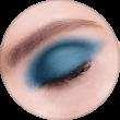 AVANT scene Тени микропигментированные, палитра синяя, оттенок D008