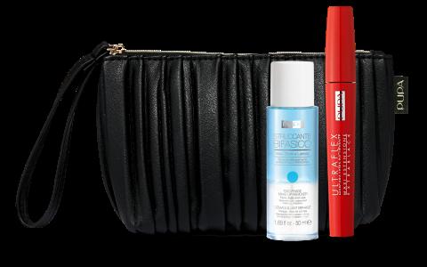 PUPA Набор продуктов для макияжа / ULTRAFLEX & TWO PHASE MAKE-UP REMOVER 10 мл + 50