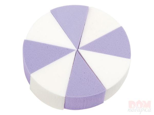 RFbeauty Губка треугольная латекс 8шт/уп СМ370Губки<br>Спонж прессованный латексный 8 штук в упаковке.<br>