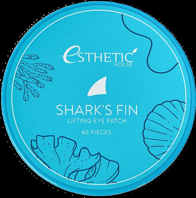Купить ESTHETIC HOUSE Патчи гидрогелевые для глаз Плавник акулы / Shark's Fin Lifting Eye Patch 60 шт