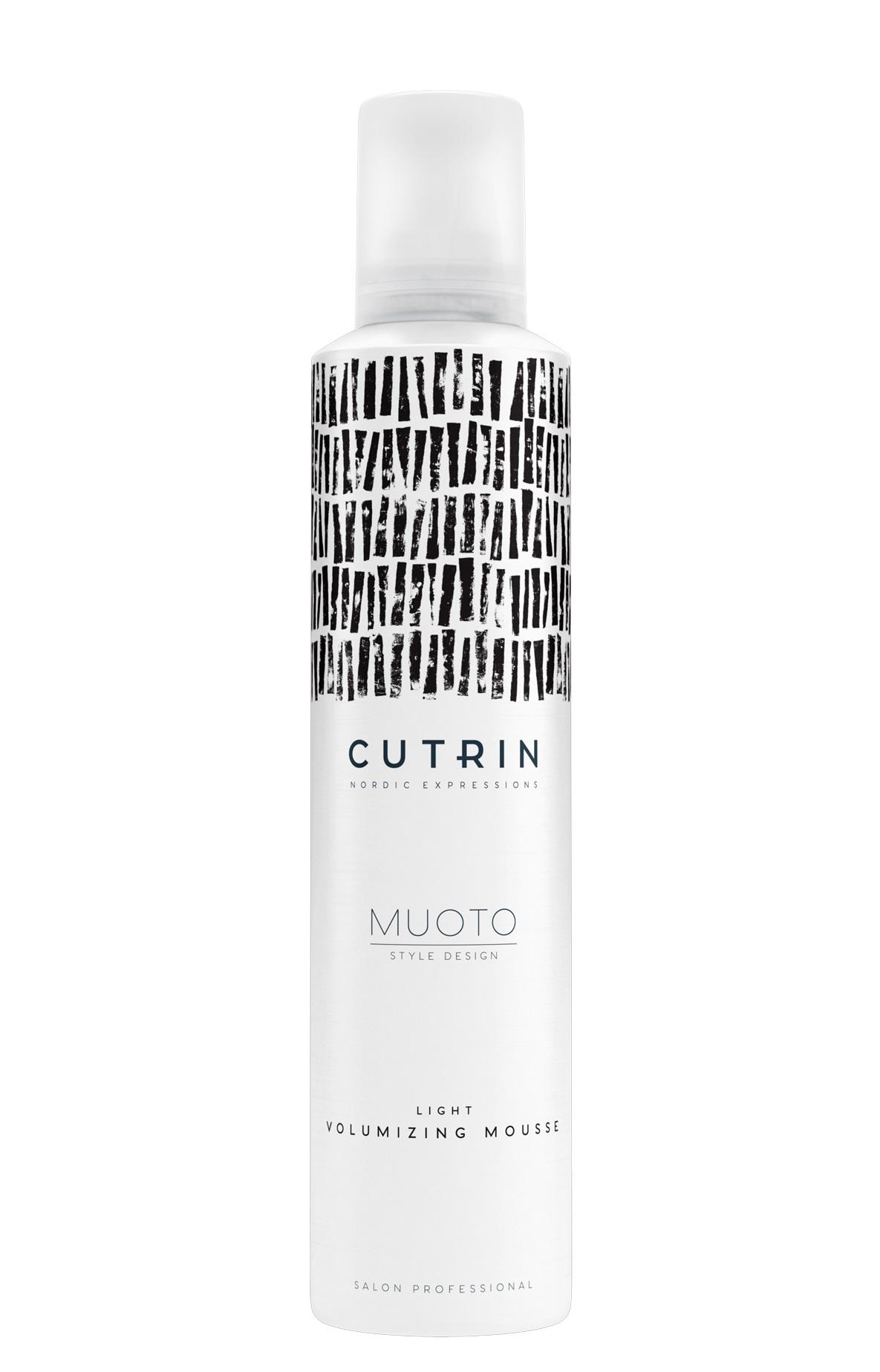 CUTRIN Мусс для объема легкой фиксации / MUOTO LIGHT VOLUMIZING MOUSSE 300 мл.