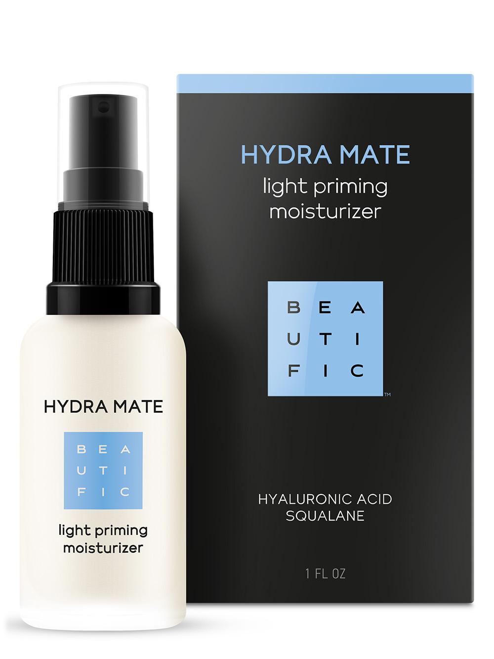 Купить BEAUTIFIC Флюид легкий увлажняющий для лица с гиалуроновой кислотой и скваланом / Hydra Mate 30 мл