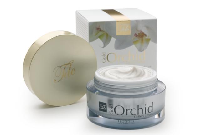 """TEGOR Крем для лица """"Золотая орхидея"""" / Cream GOLD ORCHID COTTON 50мл"""