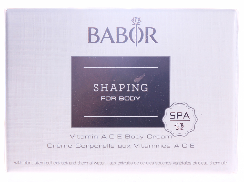 "BABOR ���� � ���������� ACE ��� ���� ""����� & ����"" / Vitamin ACE Body Cream SPA 200��"