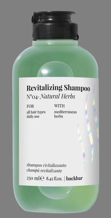 Купить FARMAVITA Шампунь восстанавливающий для волос / BACK BAR REVITALIZING SHAMPOO №04 250 мл