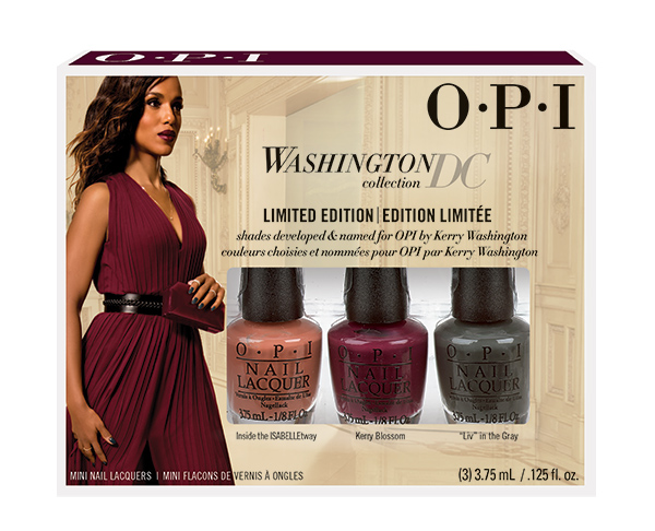 OPI Мини лаки из коллекции WashingtonDC (limited edition) (3*3.75 мл NLW65/NLW66/NLW67)Наборы <br>Набор из 4-х мини лаков коллекция Washington/Вашингтон, оттенки: NLW53 CIA = Color Is Awesome,&amp;nbsp; NLW56 Лак для ногтей Never a Dulles Moment,&amp;nbsp; NLW57 Pale to the Chief,&amp;nbsp; NLW64 We the Female<br>